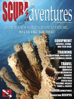 SCUBAdventures Magazine Cover (2006 edition)